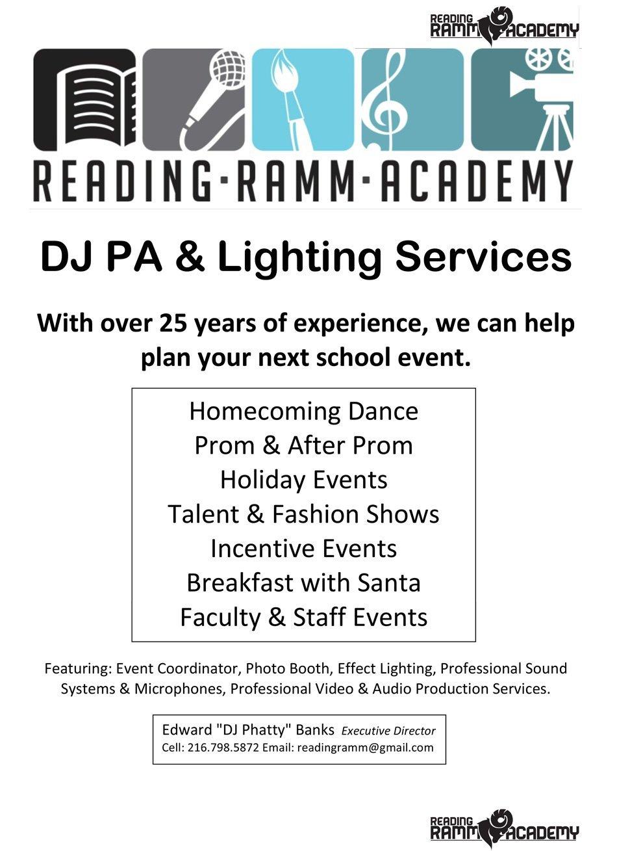 Reading-RAMM-DJ-Service